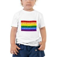 BLM Toddler Tee