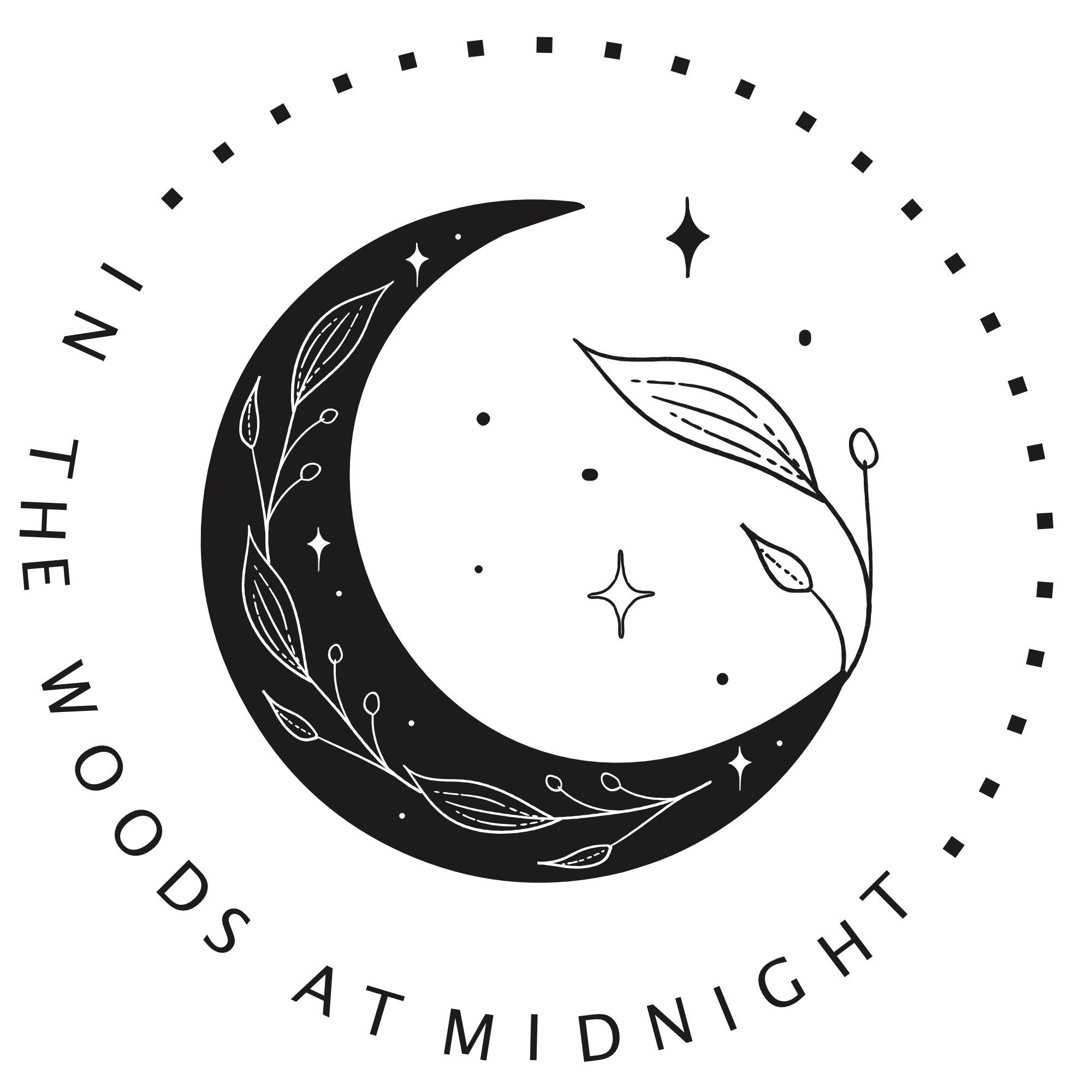 In the Woods at Midnight logo