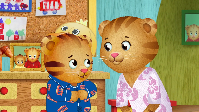 Daniel Tiger and Mom Tiger