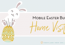Mobile Easter Bunny Graphic